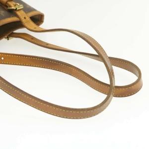 LOUIS VUITTON Monogram Bucket PM Shoulder Bag
