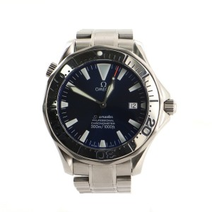 Omega Seamaster Professional Diver Chronometer 300M Automatic Watch Stainless Steel 41