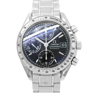 OMEGA Stainless steel Speedmaster Chronograph Automatic Watch