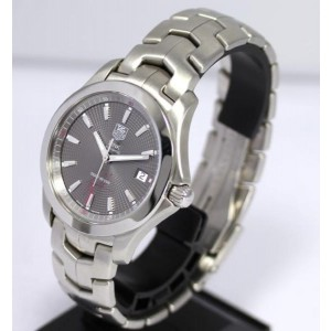 Tag Heuer Link Stainless Steel Quartz 39mm Mens Watch