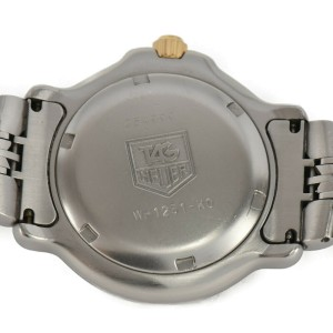 TAG HEUER 6000 series WH1215-K0 White Dial Quartz Boy's Watch