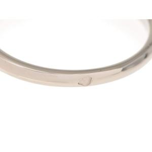 Cartier 950 Platinum Heart 0.35ct. Diamond Ring Size 4.5