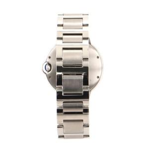 Cartier Ballon Bleu de Cartier Automatic Watch Stainless Steel with Diamond Markers 36