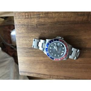 Rolex Pepsi GMT Master II 16710 Stainless Steel 40mm Watch