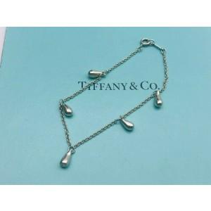 TIFFANY & Co. silver Elsa Peretti 5 Teardrop bracelet