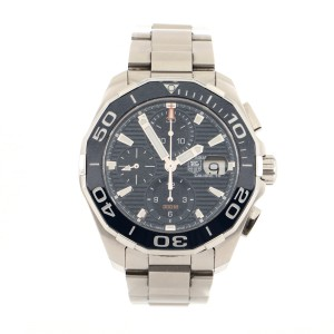 Tag Heuer Aquaracer 300M Calibre 16 Chronograph Automatic Watch Stainless Steel and Ceramic 43
