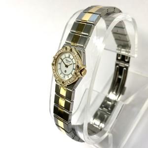 CHOPARD ST. MORITZ Quartz 18K Yellow Gold & Steel Ladies Watch