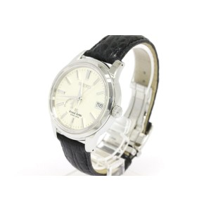 Seiko SBGA093 Spring Drive Stainless Steel & Leather 39mm Mens Watch