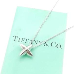 Tiffany & Co. silver Cross Star necklace