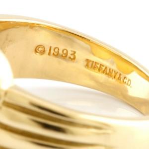 TIFFANY&Co. 18K yellow Gold Uzumaki whirlpool Ring CHAT-449