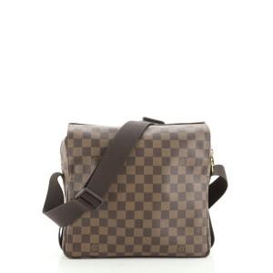 Louis Vuitton Naviglio Handbag Damier