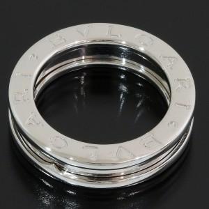 Bulgari Bvlgari B.ZERO1 1-band Ring in 18k White Gold US4.25