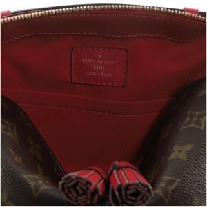 Louis Vuitton Saintonge Handbag Monogram Canvas with Leather