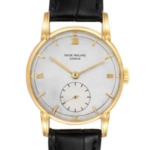 Patek Philippe Calatrava 18K Yellow Gold Vintage Mens Watch 2430