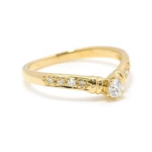 TASAKI 18K Yellow gold Diamond Ring