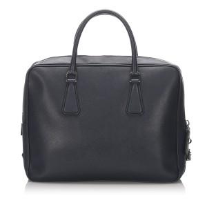 Leather Saffiano Galleria Briefcase