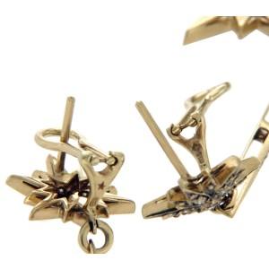 H. Stern 18K Yellow Gold & Champagne Diamonds Genesis Star Earrings