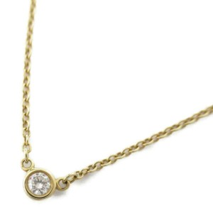 TIFFANY & CO 18k Yellow gold By the yard necklace RCB-104