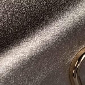 V-Ring Leather Crossbody Bag