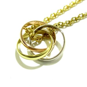 Cartier 18K Tri gold Gold Necklace