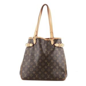 Louis Vuitton Batignolles Handbag Monogram Canvas Vertical