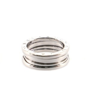 Bvlgari B.Zero1 Two Band Ring 18K White Gold