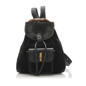 Bamboo Suede Backpack