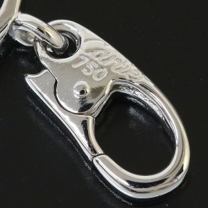 Cartier 18K White Gold Full Diamonds Baby Love Charm / Pendant Top TNN-1652