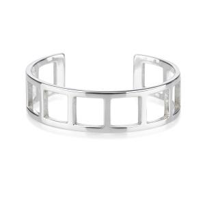Gucci 925 Sterling Silver Bangle Bracelet