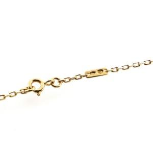 Boucheron Quatre Pendant Necklace 18K Tricolor Gold and PVD