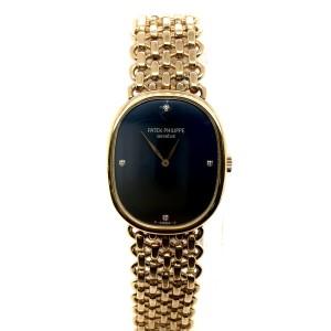 PATEK PHILIPPE ELLIPSE Mechanical 18K Yellow Gold Unisex Watch