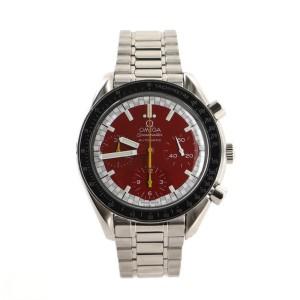 Omega Speedmaster Michael Schumacher Chronograph Automatic Watch Stainless Steel 39
