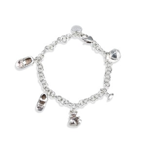 Gucci Silver Tone Hardware Boule Charm Bracelet