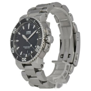 ORIS Aquis Date 733 7653 4154M Stainless Steel Automatic Men's Watch