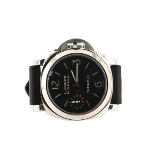 Panerai Luminor Marina Manual Watch Stainless Steel and Rubber 44
