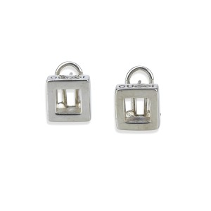 Gucci 925 Sterling Silver Stud Earrings