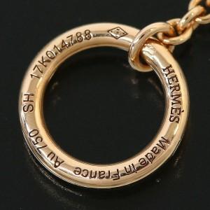 Hermes 18K Rose Gold Chaine d'Ancre Chain Bracelet Bangle