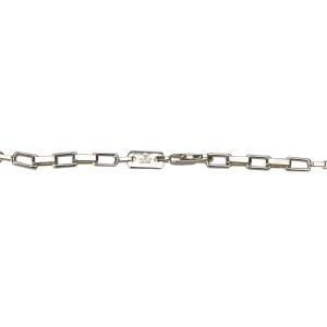 Gucci Sterling Silver Chain Necklace