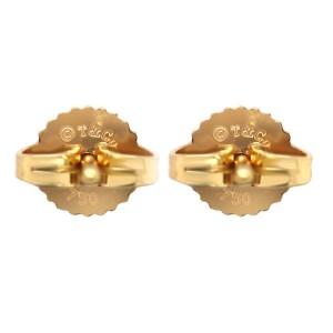 Tiffany & Co. 18k Gold Elsa Peretti Open Heart Earrings