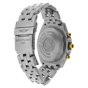 Breitling Crosswind 18K Yellow Gold & Stainless Steel Diamond 42mm Watch