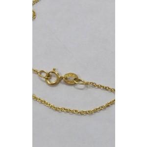 Jennifer Meyer 18K Yellow Gold Diamond Wishbone Pendant Necklace