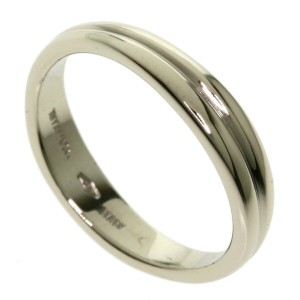 TIFFANY & Co. 18k White Gold Double Ring