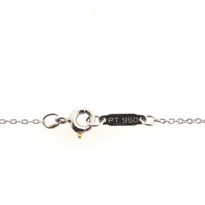 Tiffany & Co. Flower Pendant Necklace Platinum with Diamonds