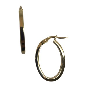 Roberto Coin Petite 18K Yellow Gold Hoop Earrings