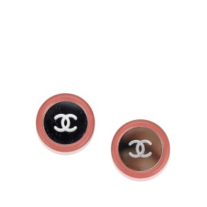 Chanel Circular Clip On Earrings