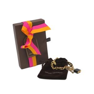 Louis Vuitton Brass And Plastic Bracelet