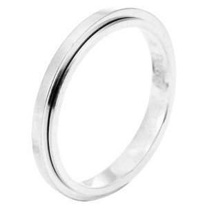 Piaget G34PR300 18K White Gold Ring Size 9.25