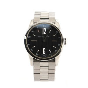 Bvlgari Solotempo Quartz Watch Stainless Steel 37