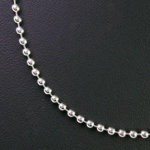 GUCCI Silver Ball chain Necklace