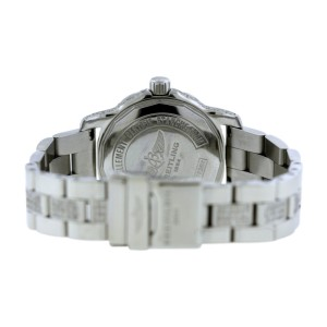 Breitling Colt A77387 Stainless Steel & Diamond 33mm Womens Watch